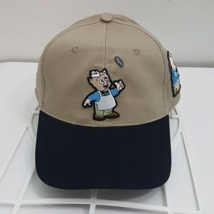 Other - Porky the pig strapback hat dad